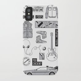 McFly Icons - Back to the Future iPhone Case