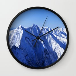 Shapes of Mountain Wall Clock