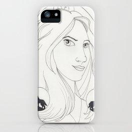 Malia iPhone Case