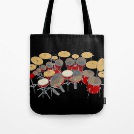 Large Drum Kit Tote Bag