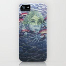 Shui Gui (Water Ghost) iPhone Case