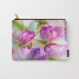 Multicolor Tulip Bouquet Spring Mood #decor #society6 #buyart Carry-All Pouch