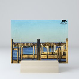 Docks Mini Art Print