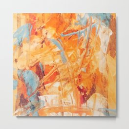 Abstract H1 Metal Print