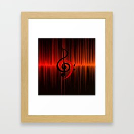 c-sus audio Framed Art Print