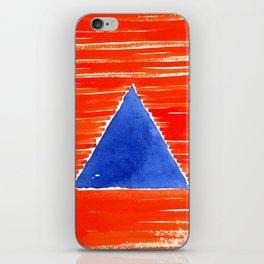 orange desert iPhone Skin