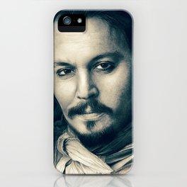Johnny Depp II. iPhone Case