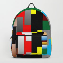 Pieces of fabrics Backpack