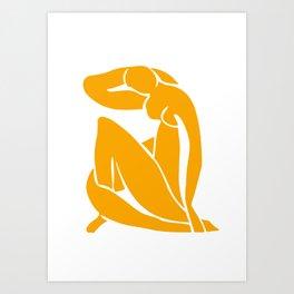 Matisse in Gold Art Print