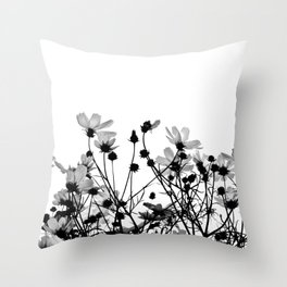 COSMOS - BW Throw Pillow