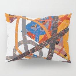 geometric travel Pillow Sham