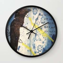 Prose & Cons Wall Clock
