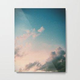 Dreamy Moon Metal Print