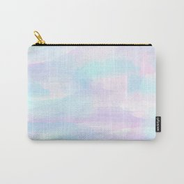 Pink, Purple, and Blue Watercolor Carry-All Pouch
