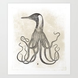 The Octo-Loon Art Print