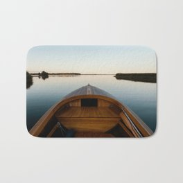 Summer Mornings On The Lake Bath Mat