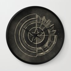 Capt America Wall Clock