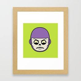 Deathray Head Framed Art Print