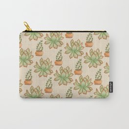Wax Agave & Jade Plant Carry-All Pouch