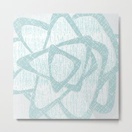 Brom blue Metal Print