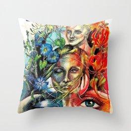 A Lucid Dream Throw Pillow