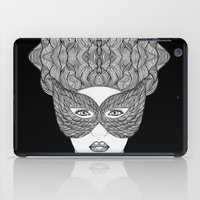 mask iPad Cases featuring Mask by Luna Portnoi