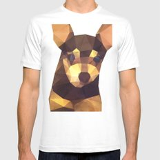 The Chihuahua Mens Fitted Tee MEDIUM White