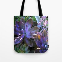 secret life Tote Bags featuring The Secret Life of Plants by Slow Toast