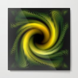 The Abyss Abstract Metal Print