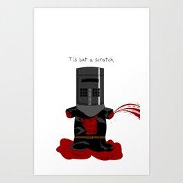 Black Knight. Monty Python  Art Print