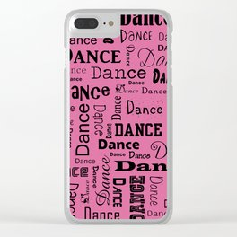Just Dance - Pink Clear iPhone Case