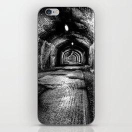 Monsal trail tunnel, Peak District, U.K. iPhone Skin