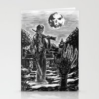 evil dead Stationery Cards featuring Evil Dead by Marc Vuletich