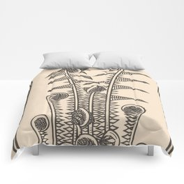 Nouveau Fiddleheads Comforters