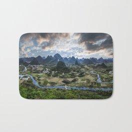 Karst Pinnacle landscape of Guilin Bath Mat