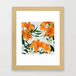 Glorious Lilies Framed Art Print
