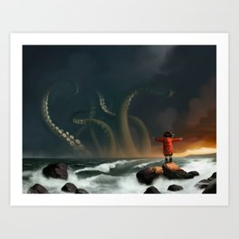 The Sea Art Print