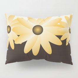 Yellow Daisy Pillow Sham