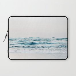 Beautiful White Beach Laptop Sleeve