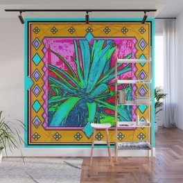 Tropical Foliage Western Style Abstract Wall Mural