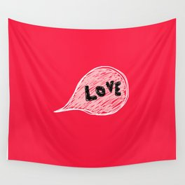 Strong hot love Wall Tapestry