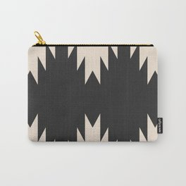 Minimal Southwestern - Charcoal Carry-All Pouch