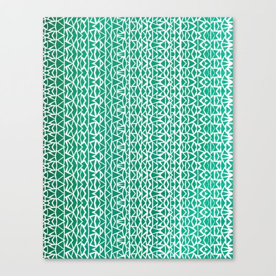 Tribal Forest Canvas Print