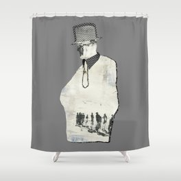 business migration Shower Curtain