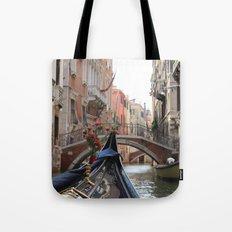 Italy Venice Gondola Tote Bag