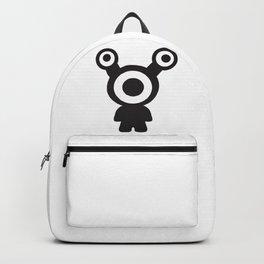 3-Eyed Alien Baby Backpack