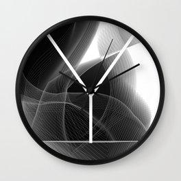 Dark Math. Y Wall Clock