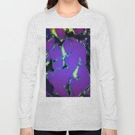 Soft blue shatter Long Sleeve T-shirt