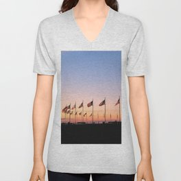 My Country 'tis of Thee Unisex V-Neck