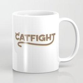 Catfight Coffee Mug